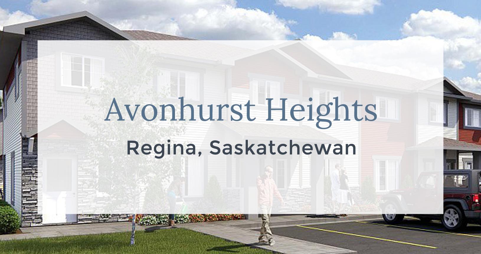 Avonhurst Heights: Regina, Saskatchewan