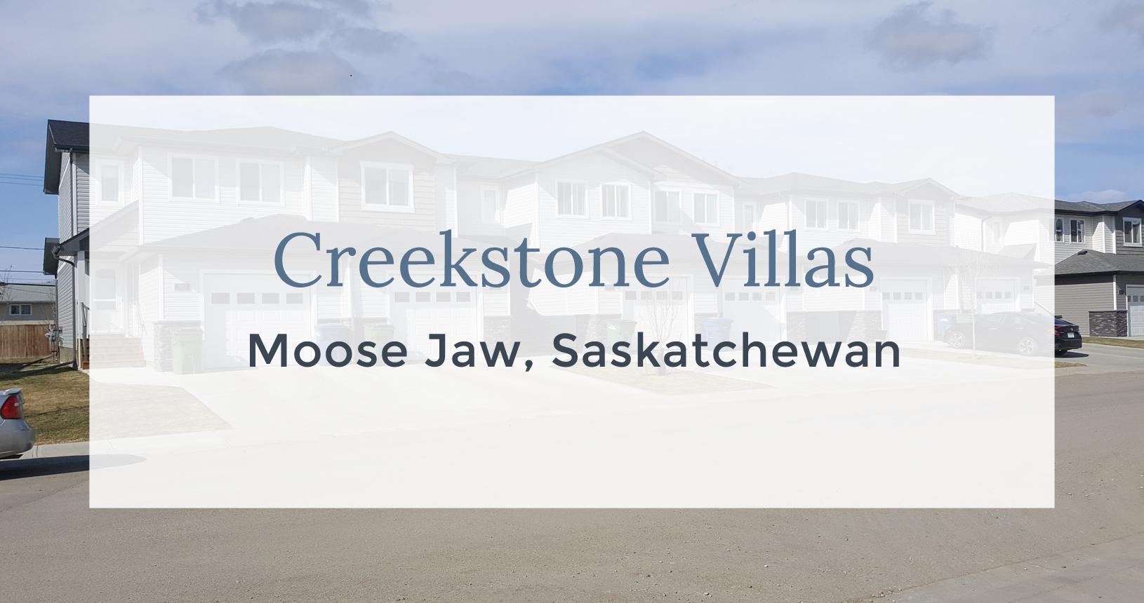 Creekstone Villas: Moose Jaw, Saskatchewan