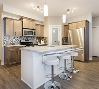 NewRock Homes Showhome Kitchen