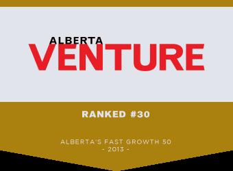 Ranked #30 Alberta's Fast Growth 50 2013