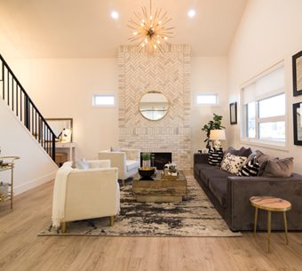 NewRock Homes Showhome Living Room