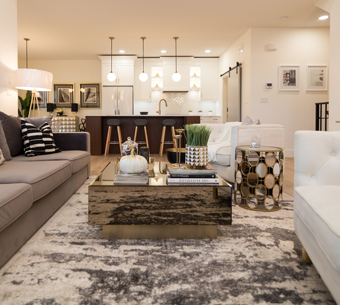 NewRock Homes Showhome Livingroom
