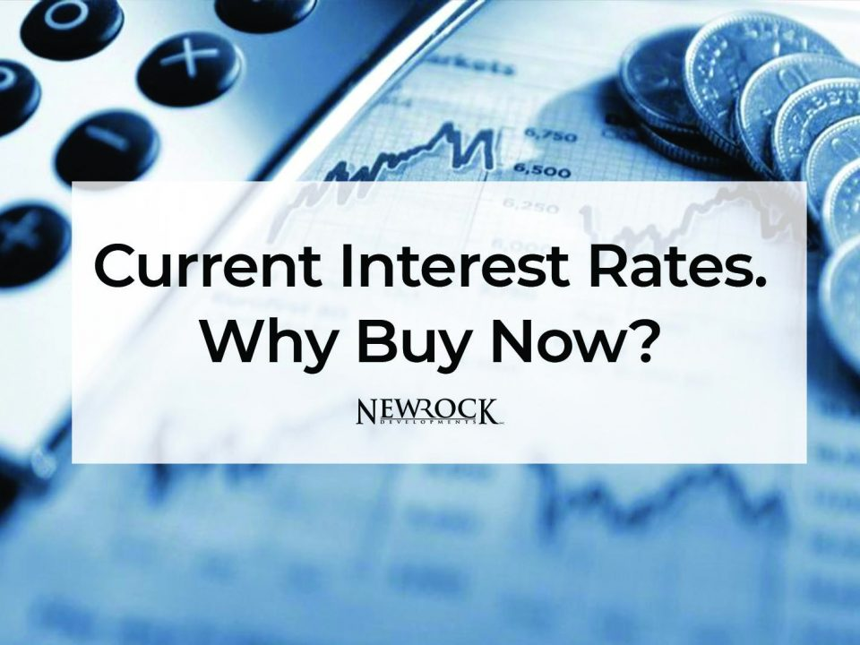 Current Interest Rates. Why Buy Now?