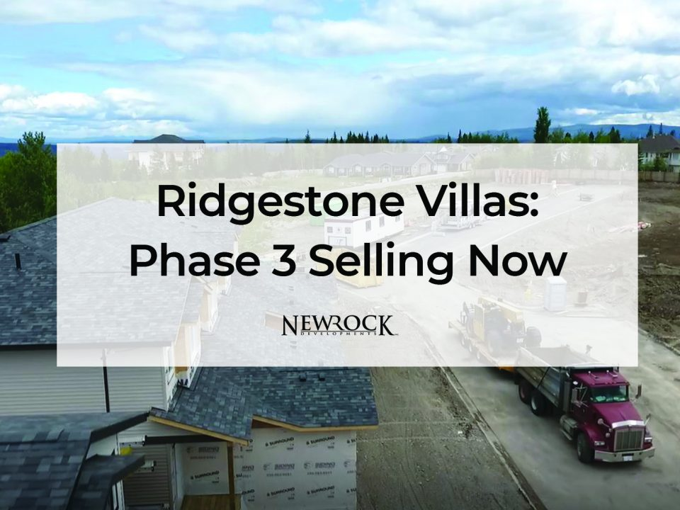 Ridgestone Villas: Phase 3 Selling Now