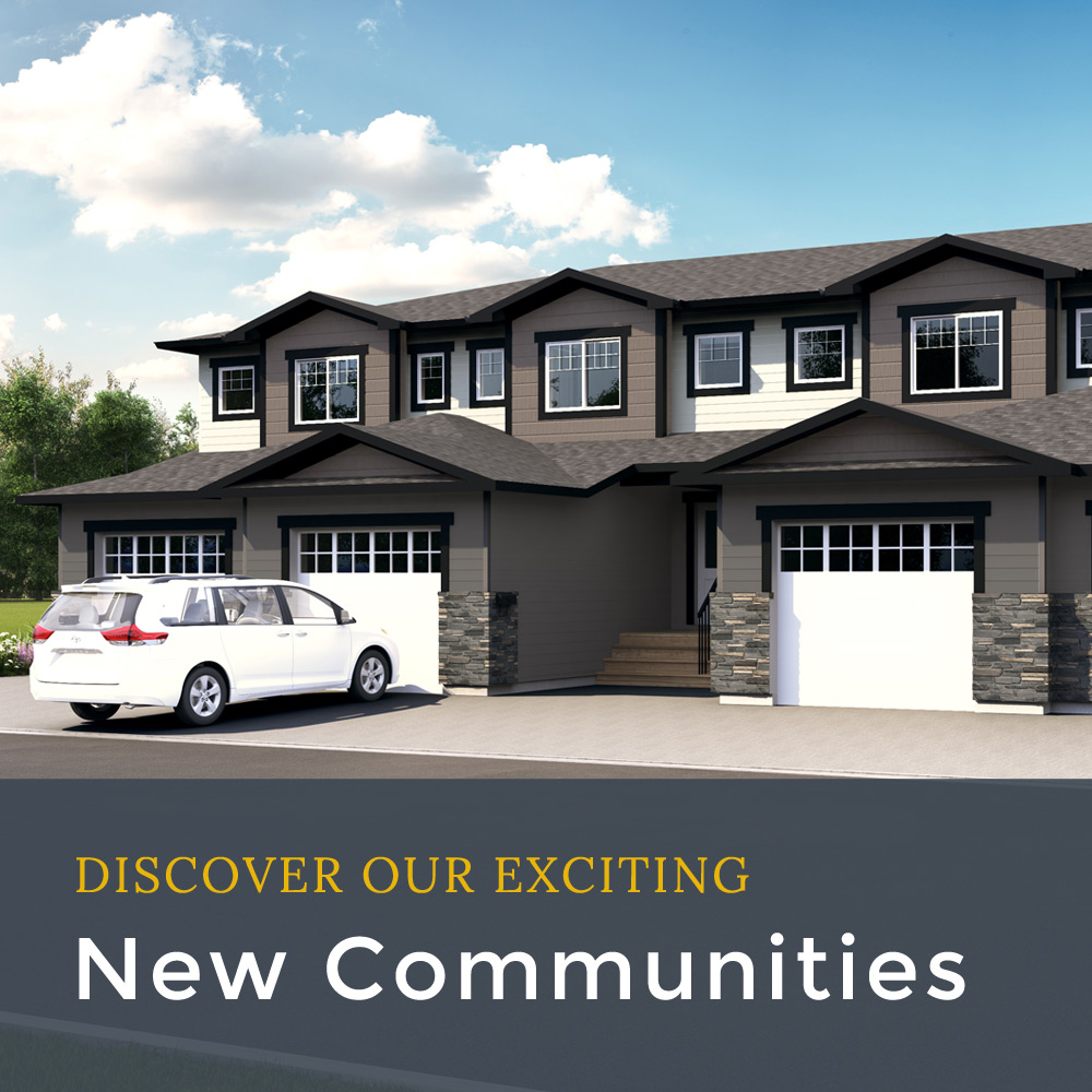 Discover our exciting new communities