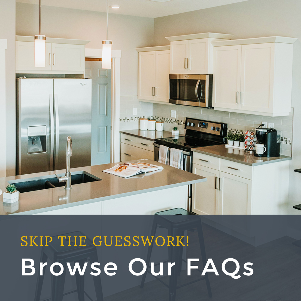 Skip the Guesswork! Browse our FAQs