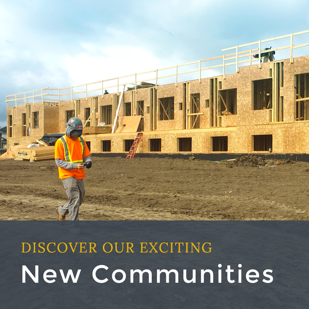 Discover our exciting new communities!
