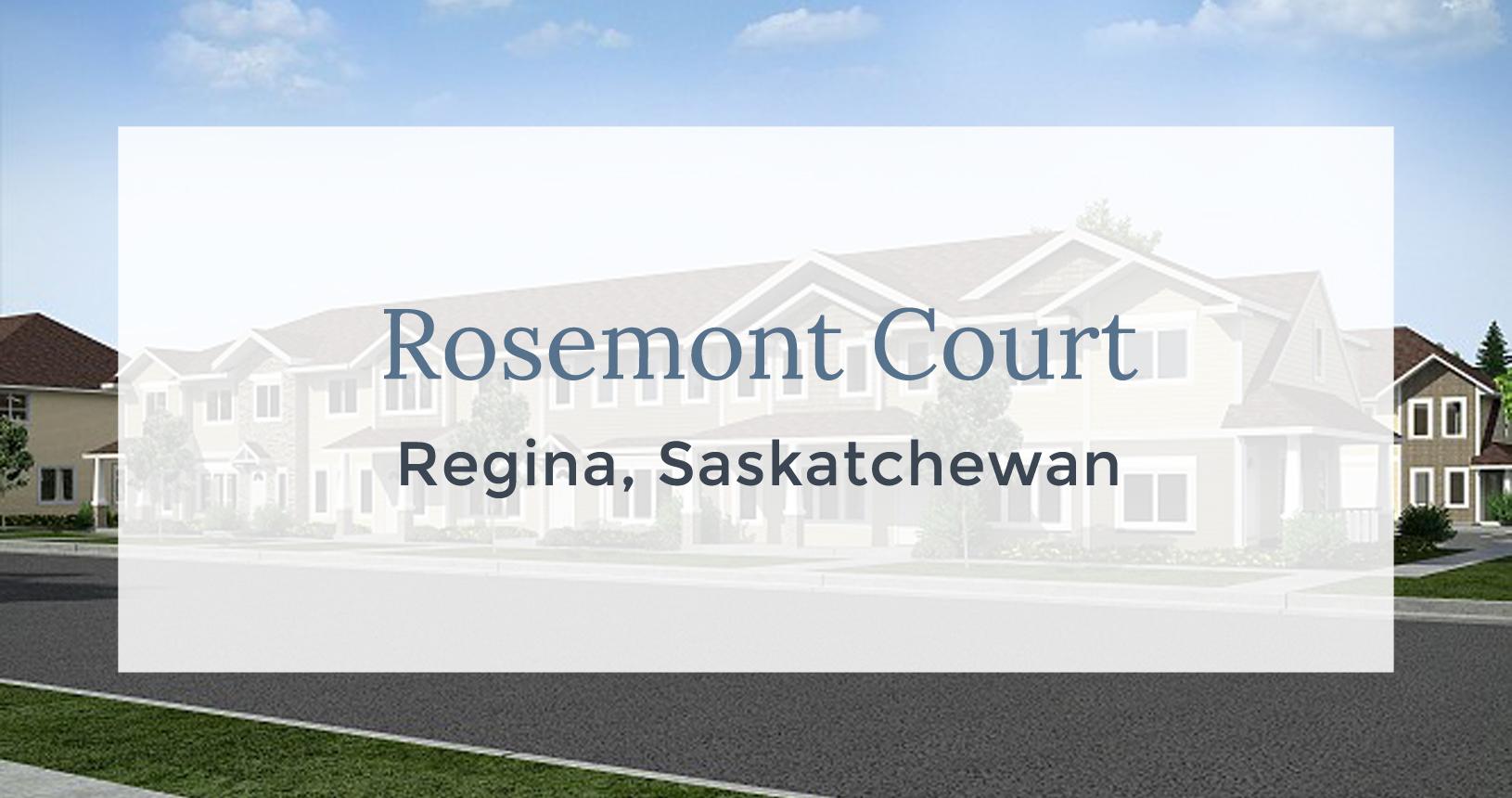 Rosemont Court: Regina, Saskatchewan