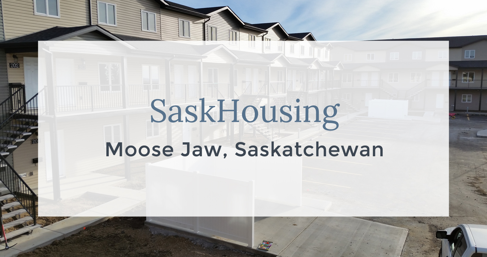 SaskHousing, Moose Jaw, Saskatchewan